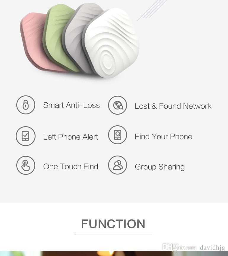 Tuerca 3 Recordatorio de alarma anti-perdida Itag para niños Mascotas Monedero Actividad Claves Rastreadores Bluetooth inalámbrico Ubicación GPS Mini Smart Finder