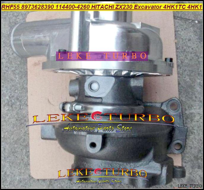 RHF55 ZX230 Excavator 4HK1 4HK1TC 4HK1-T 8973628390 114400-4260 Turbo turbocharger (1)