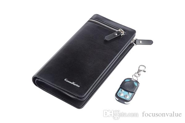 Full HD 1080P Men's purse camera video recorder Remote control Leather Wallet camera Man's handbag DVR mini camcorder bag Cam