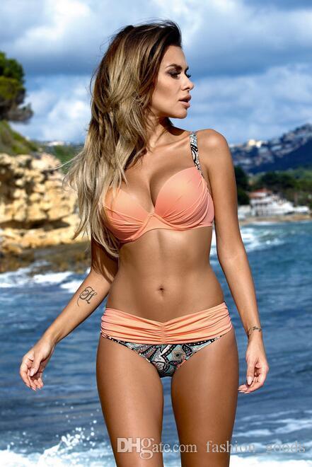 Good A++ The new split steel pole gathers bikini swimsuit swimsuit NS014