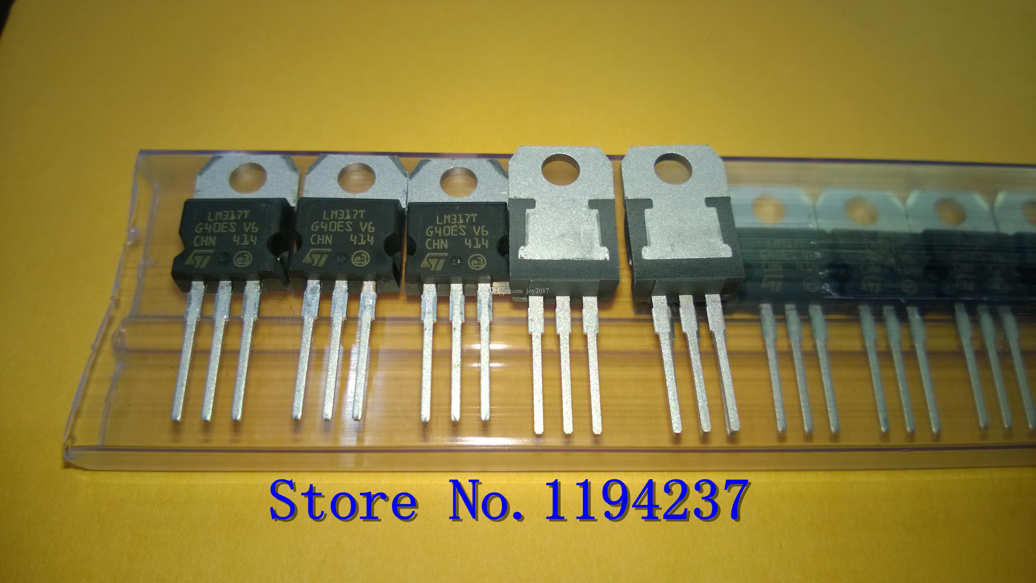 Frete Grátis LM317TG LM317T LM317 TO220 Original NOVO 10 PÇS / LOTE
