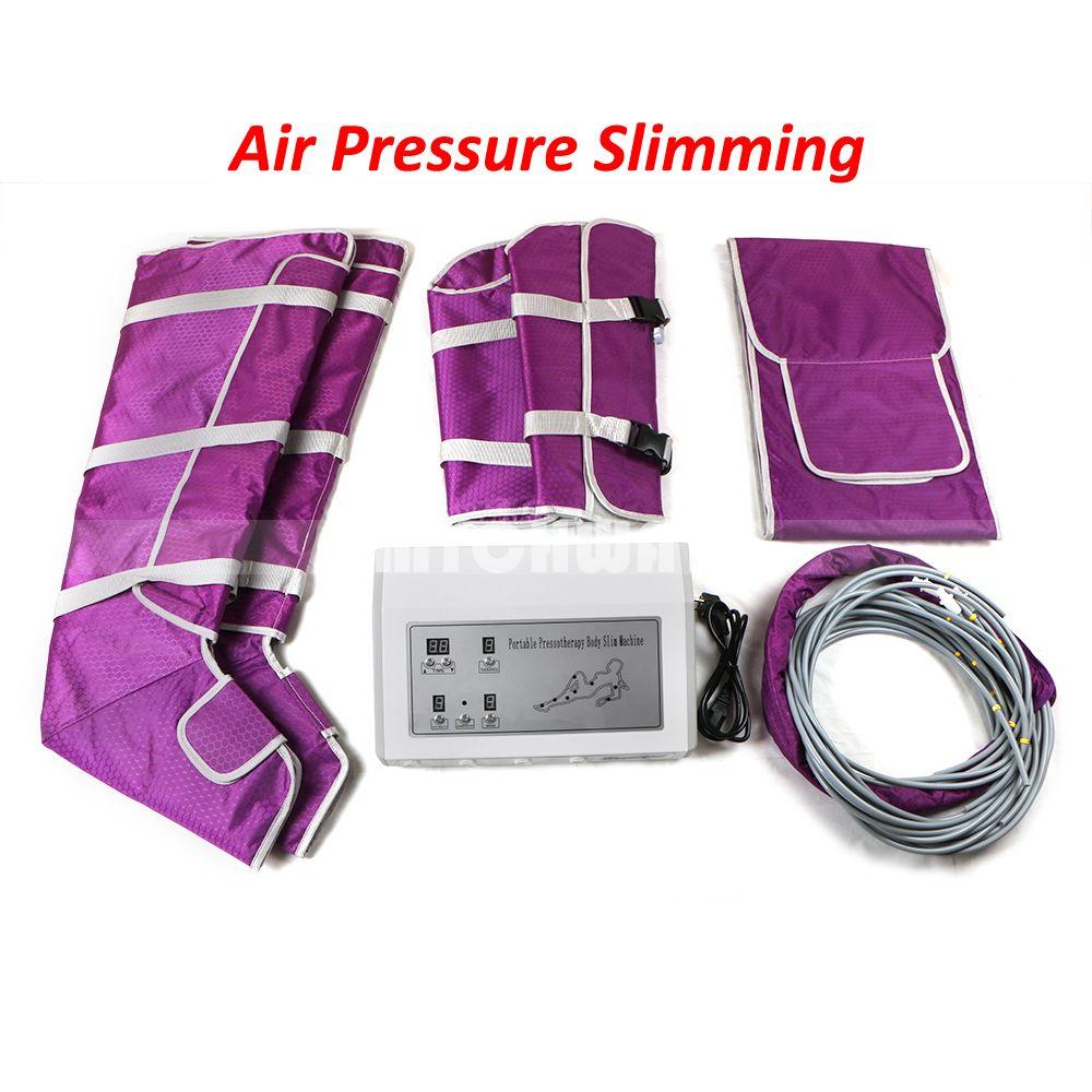 Pro Air Pressure Body التخسيس إزالة السموم السيلوليت اللمفاوي آلة حرق الدهون بطانية تدليك ساونا سبا