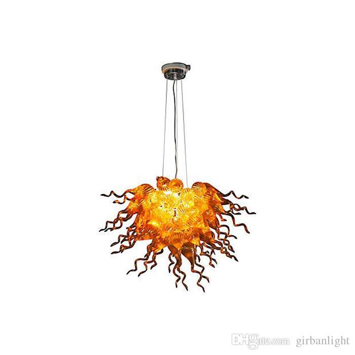 Decoración para el hogar Lámpara soplada a mano Chandelier Light Led Lights Fuente Moderno Art Diseñado Chihuly Style Italian LapeLiers