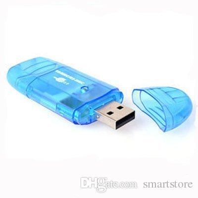 Lettore di schede di memoria MMC SD di memoria USB gratuito All in 1 TF Memory 100pcs / lot Colorato