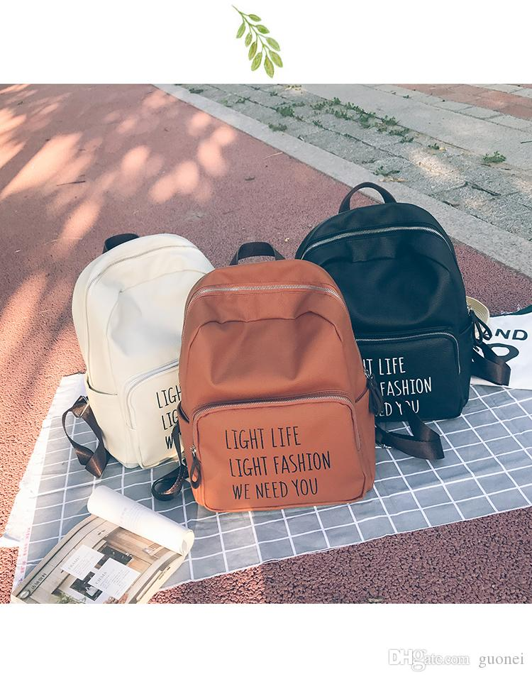 2017 Fahion Europe Style School Bag Fashion Designers Handbags Backpack Unisex Shoulder Bag Backpacks Imitation Brands Pu Laptop Rucksack Backpacks For College From Guonei 25 67 Dhgate Com