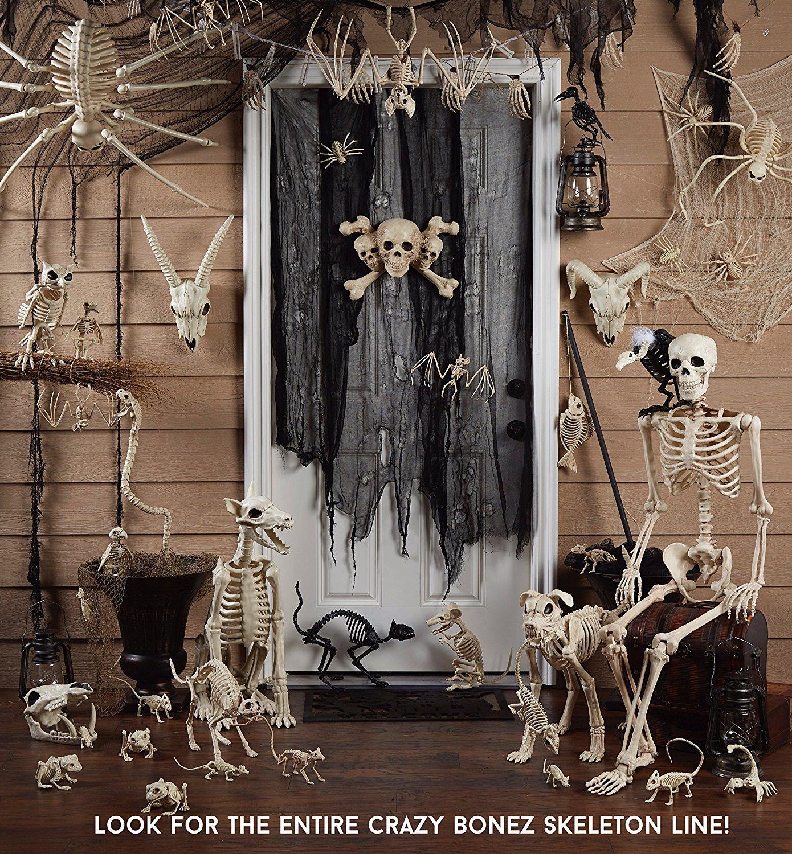 Yeni Tasarım Fantasy Yaşam Eğlenceli Kemik İskelet-Şapka Kemik Ev Cadılar Bayramı Partisi Dekorasyon