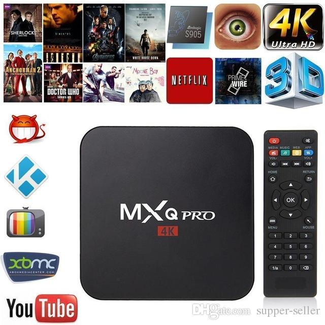 MXQ PRO Android tv box RK3329 Android 7.1 1G/8G WiFi 4K Loaded add-ons 1080i/p set top box