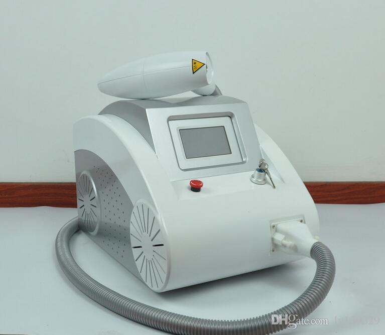 carbone de la face de traitement de poupée noir pelage 2000mj nd yag machine de déplacement de tatouage de laser