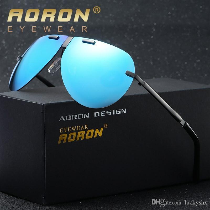 Nouvelle marque Design Hommes lunettes de soleil polarisées Lunettes de conduite UV 400 Lunettes miroirs pliables oculos de sol Lunettes 391