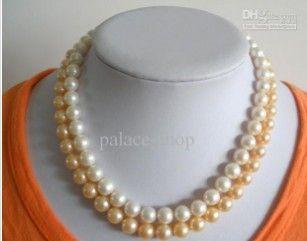 Collier de perles naturelles 8 - 9 mm b1 ccgd