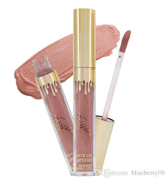 Venta al por mayor de alta calidad nuevo Lipstick maquillaje 6 colores brillo de labios duradero antiadherente taza labial glair lipstick un conjunto de 6 piezas