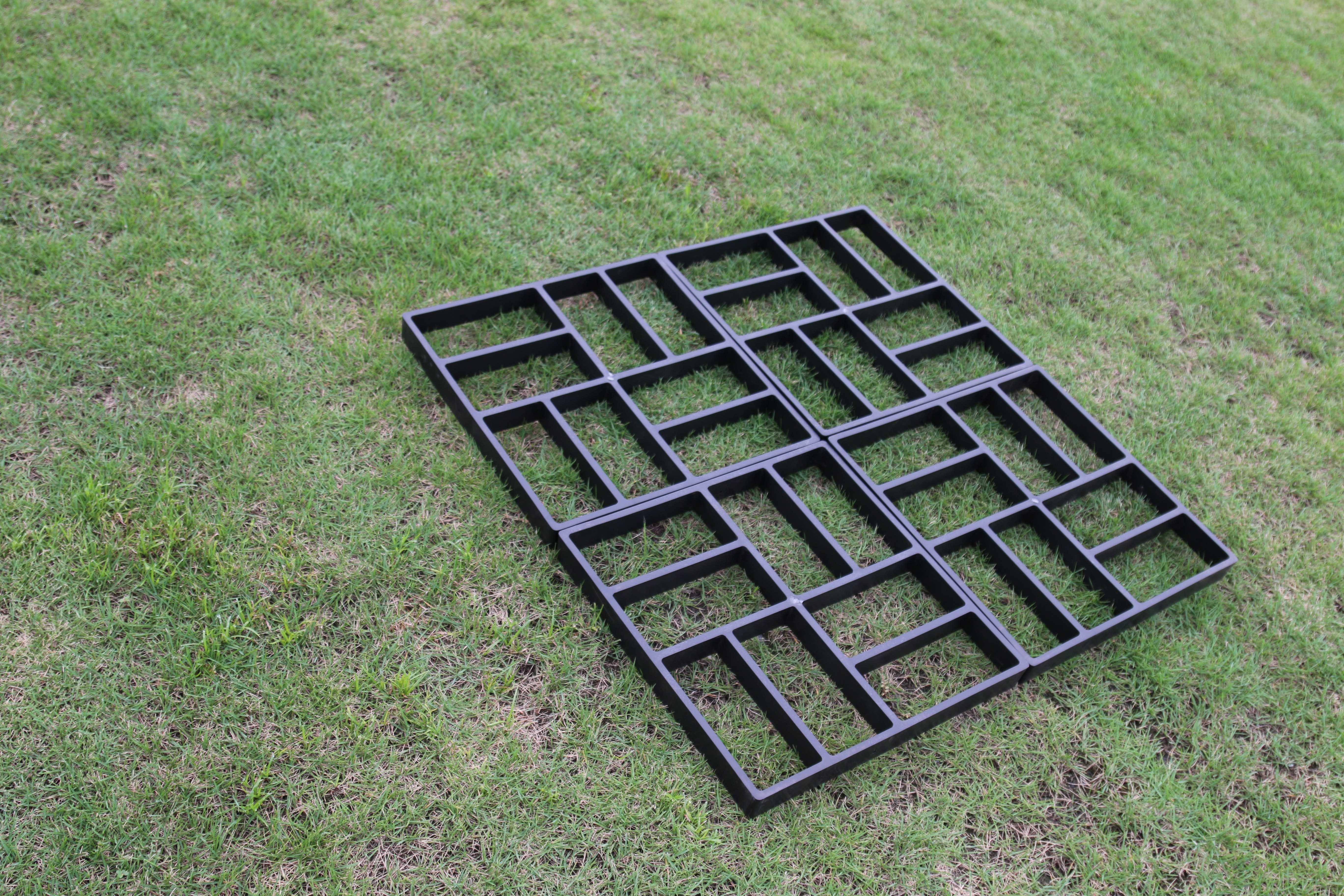Losas jardin suelo de madera y losas preciosas en el jardn moderno como instalar un piso de - Pavimento jardin ...