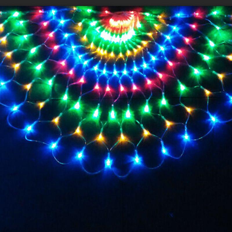 3 m 492 LED Pavão LED Cordas de Luz de Natal Decorações Do Partido Do Casamento Cortina De Fundo Fada Luz fio de cobre levou 220 V / 110 V