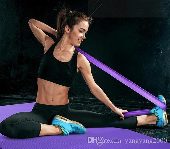 1.5m Movimento de Resistência Banda Yoga tensão da fita Belt Latex estiramento Resistência Com Training