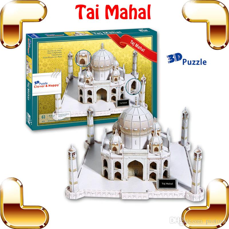 2020 New Year Gift Tai Mahal 3D Puzzles Model Building ...