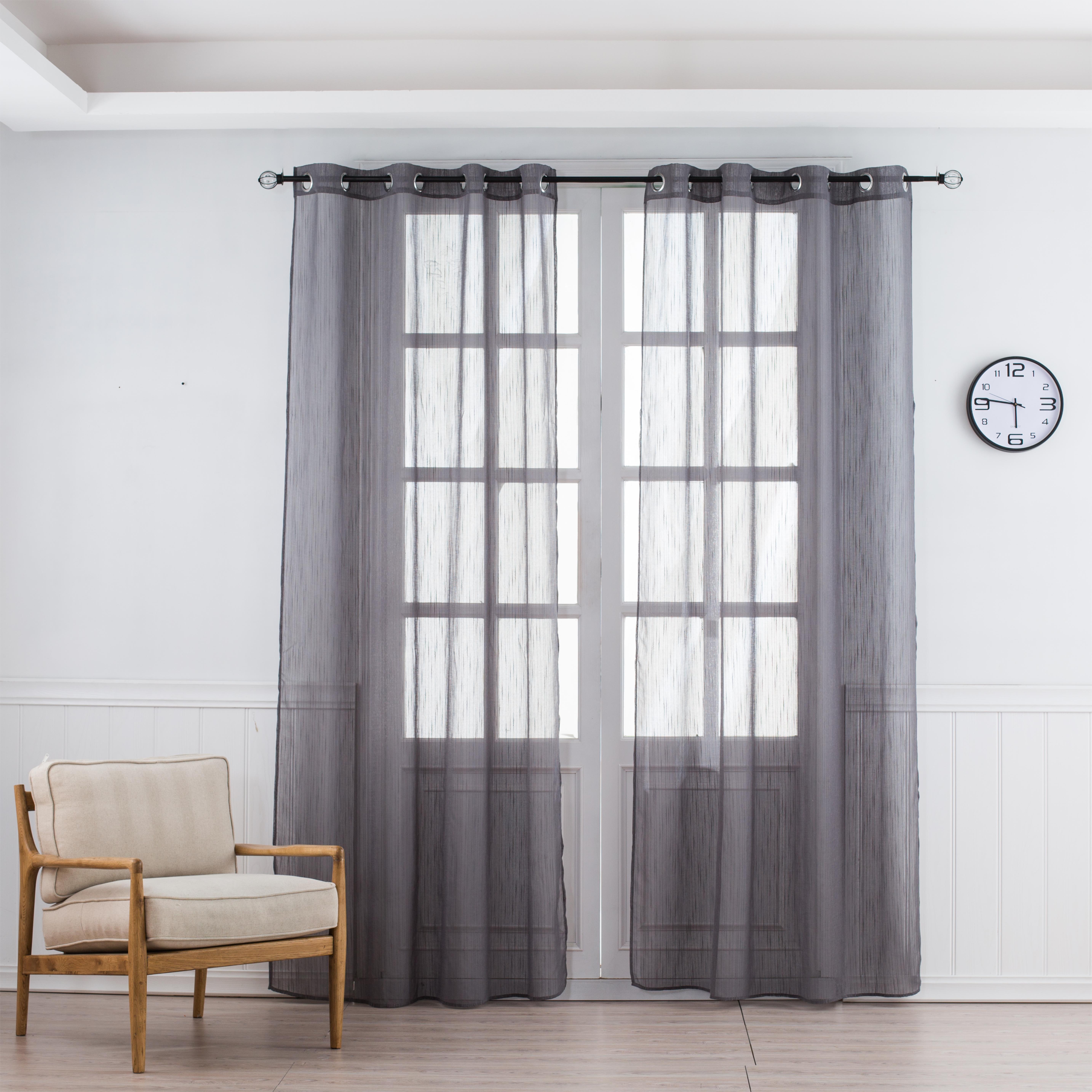 Maxineu0026Li Beautiful Sheer Window Elegance Curtains/drape/panels/treatment Sheer  Curtains