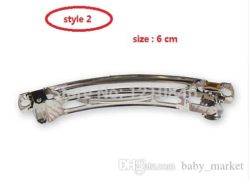 4 Stil verfügbar Doreen Perlen Heiße französische Clips Prise Hahn, Frühling Clip Ton Französische Haarspange-Clips