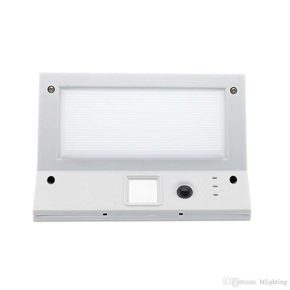 3 modes 21LEDs capteur de mouvement étanche solaire LED lumière extérieure lampe de mur de sécurité pour patio jardin