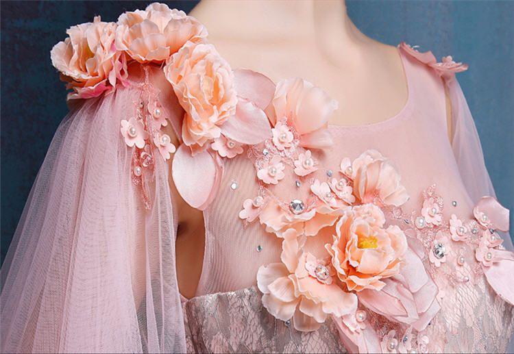 Full Lace Wedding Dresses Vestidos De Novia Colorful Bridal Gowns ...