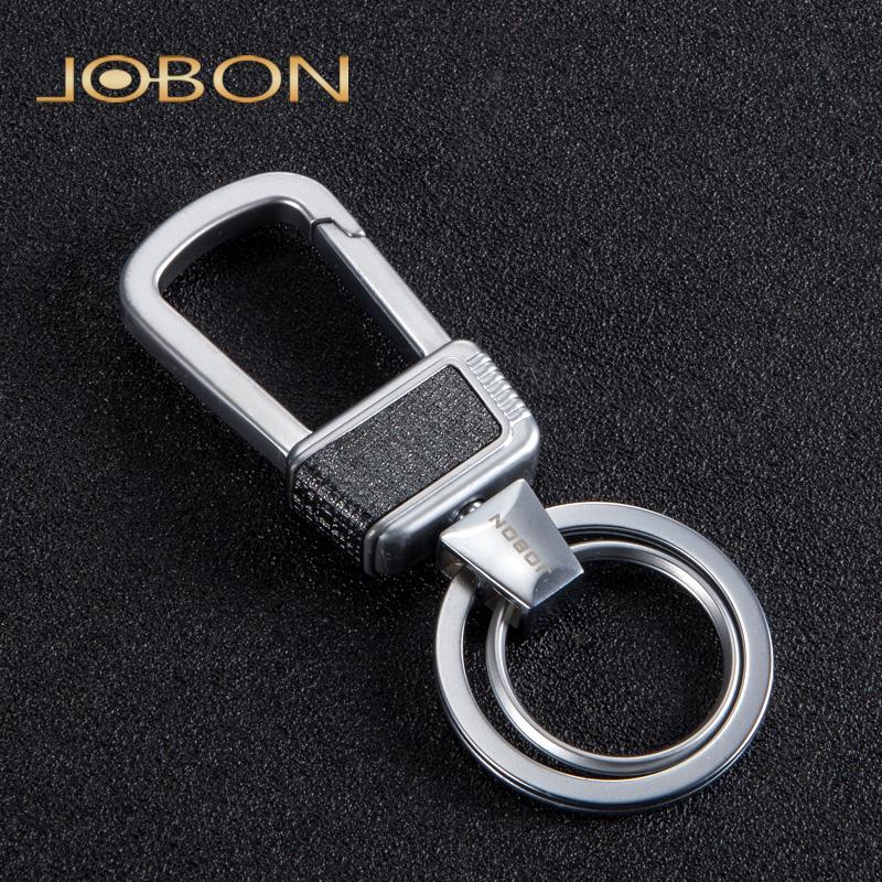 10 PCS JOBON Marca Chave Do Carro Cadeia de Liga de Zinco Anel Chave Do Carro de Metal para Senhoras Saco Hand-held Chave Acessórios Melhor Cadeias de Presente