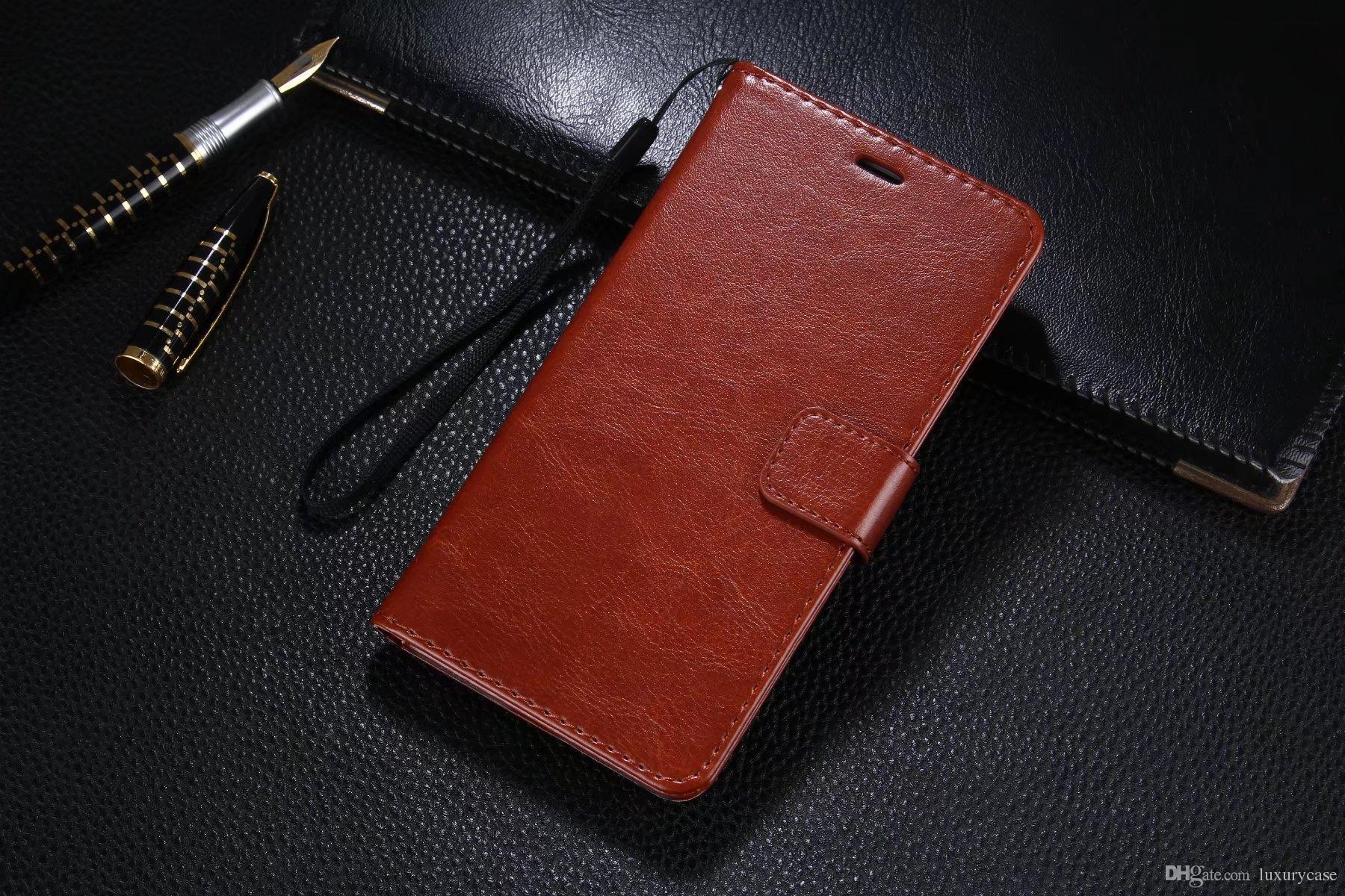 Custodia in pelle di lusso per Huawei Enjoy 7 Plus Custodia rigida per Huawei Ascend Enjoy 7 Plus