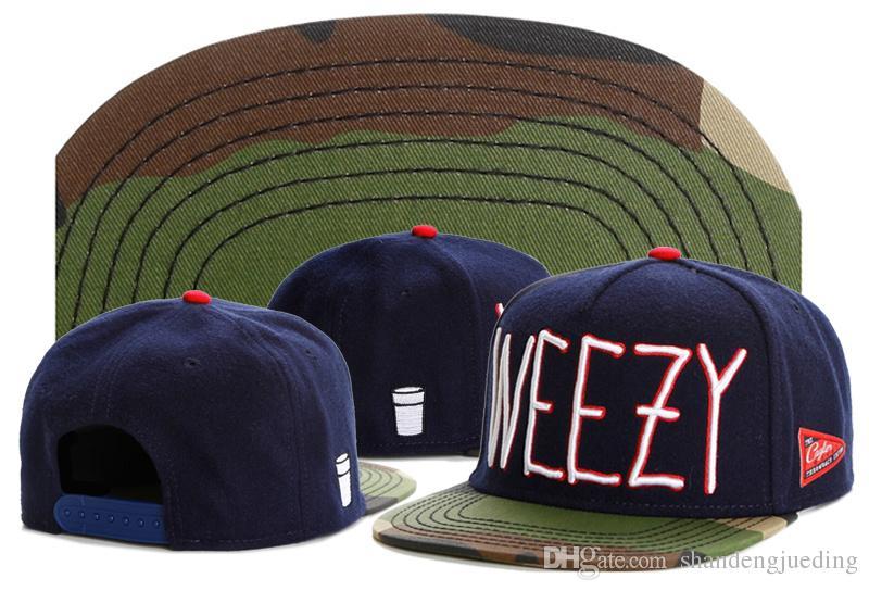WEEZY Cayler Sons Snapbacks 블루 카모 남자 힙합 스냅 백 캡 스냅 백 여성 모자 볼 캡 스포츠 모자