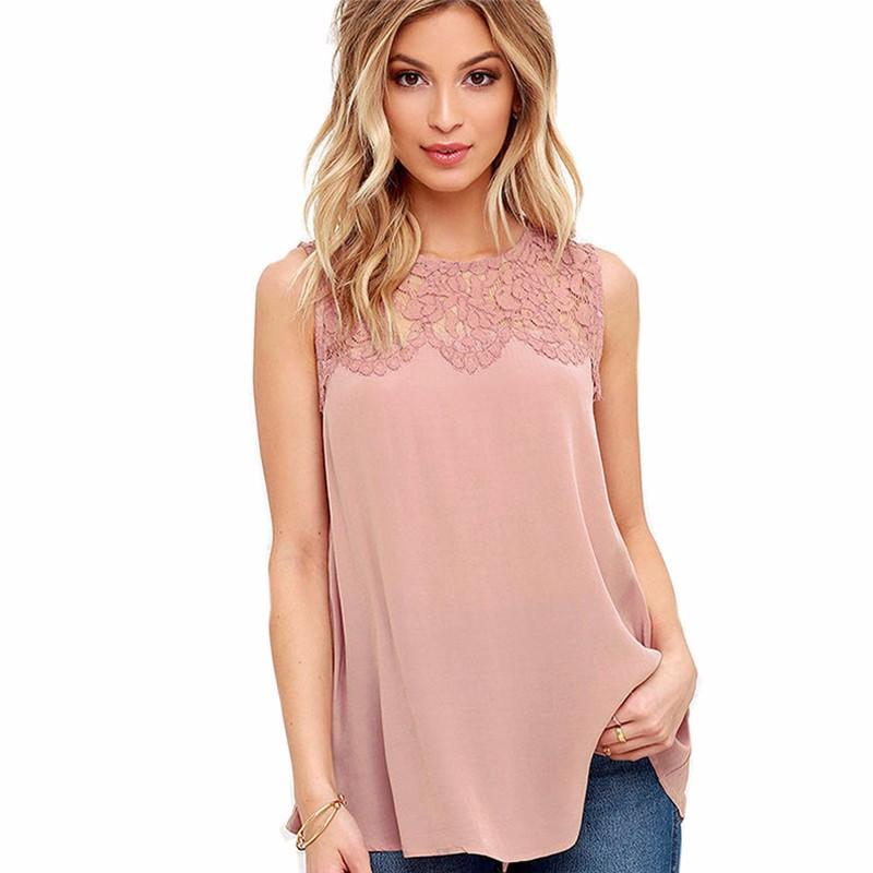 2016-Fashion-Lace-Women-Casual-Top-Sleeveless-Elegant-Office-Work-Blouse-Lady-Summer-2016-Shirt-High (1)