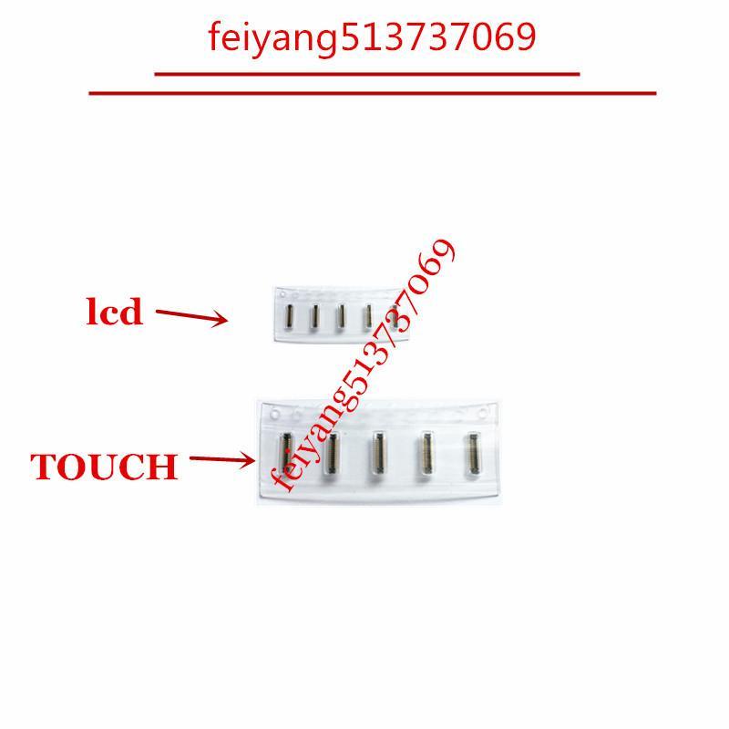 Orijinal LCD 10set ve iphone için Sayısallaştırıcı FPC Bağlayıcı dokunun 7 7P 5 5c 5s 6 6p 6s 6SP