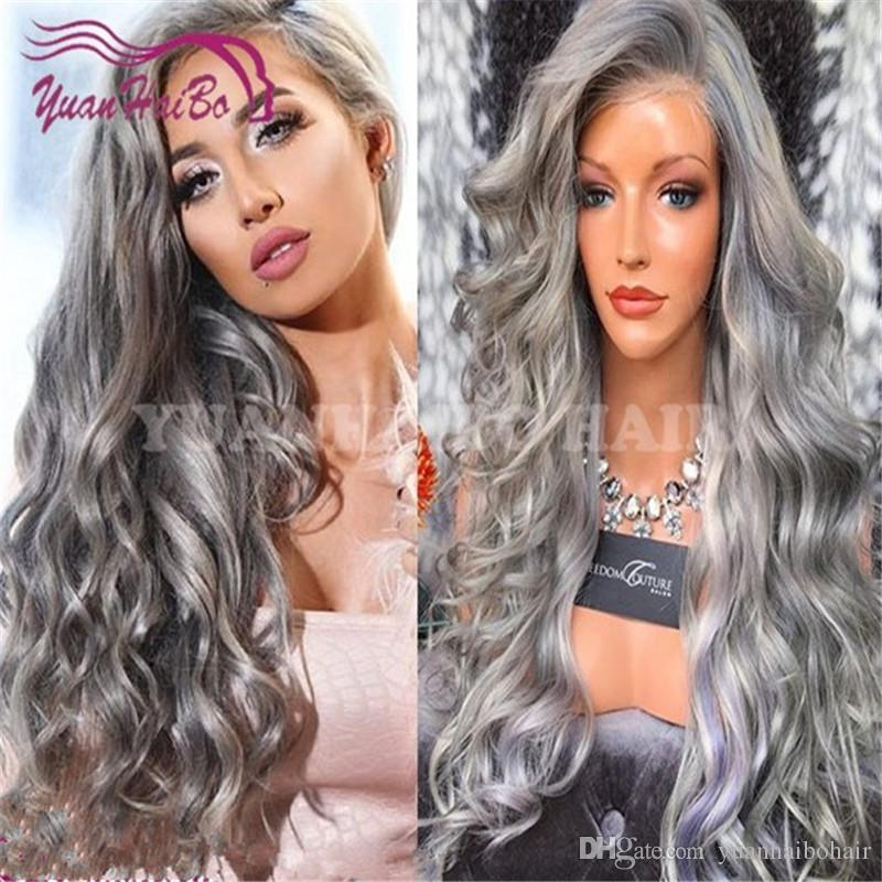 Celebrity Wigs Lace Front Wig Brazilian Virgin Remy Human Hair Lace Frontal Wigs Loose Wave Glueless Full Lace Wig Free Shipping