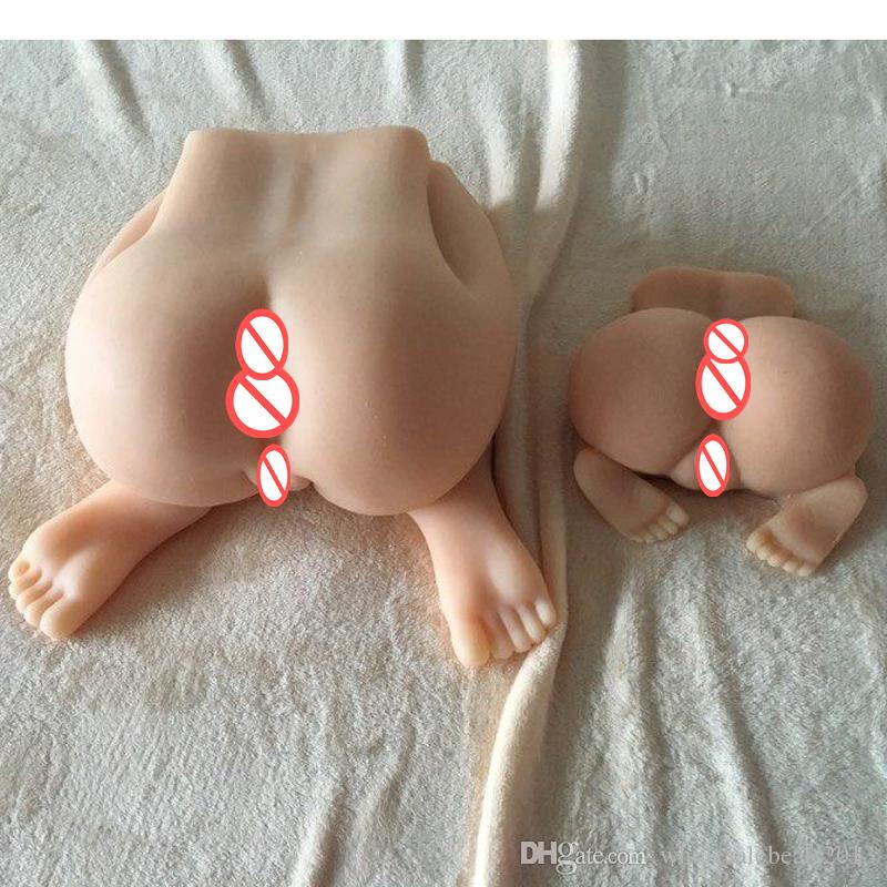 3d big ass adult sex toys Japanese full silicone realistic pussy real sex doll for men Vagina Anal masturbator sex toy for male