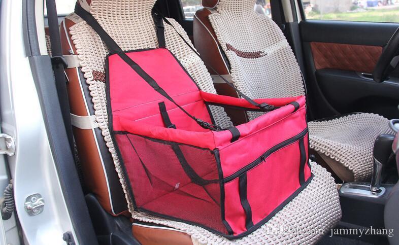 مقعد أكسفورد القماش الكلب سيارة سيارة حقيبة ناقلات الحيوانات الأليفة حصيرة غطاء غطاء مات حامي 50PCS مقاوم للماء تنفس بالجملة