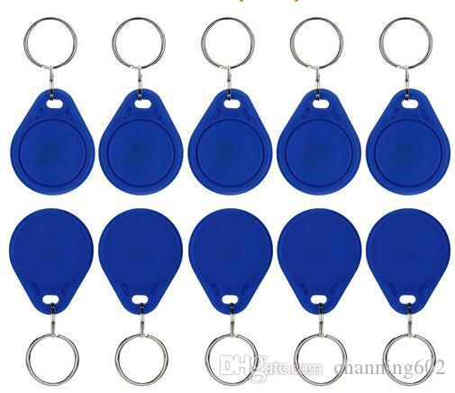Meilleur prix d'usine faire Meilleur cool TK4100 125khz 100pcs / lot ISO11785 ABS Chine RFID Keyfob Pas cher et sécurisé clé Fob