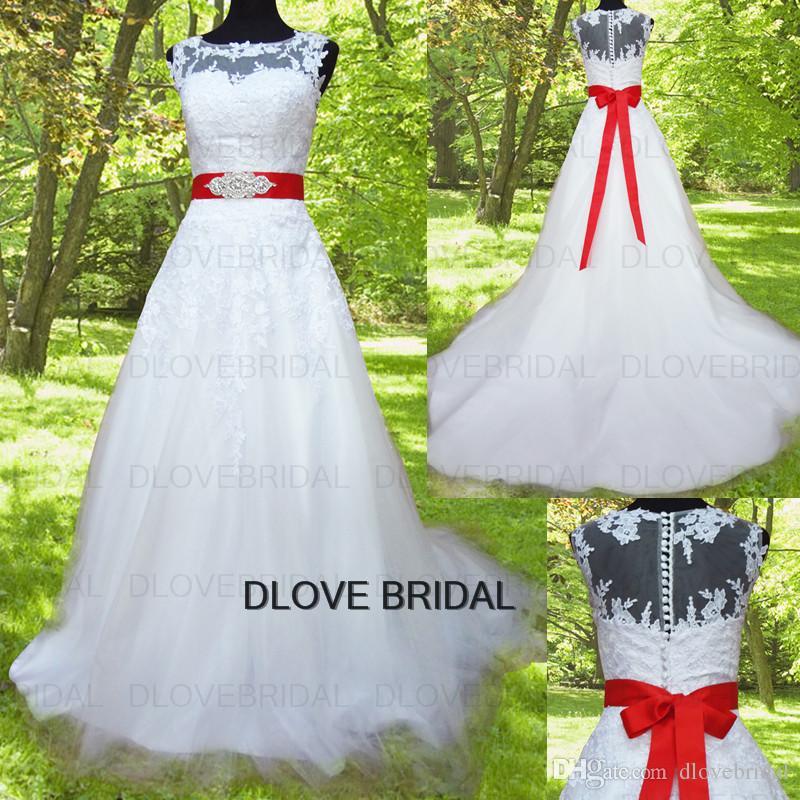 الوهم مشد فساتين الزفاف مع انفصال كريستال حزام شاح الرباط يزين تول طبقة ثوب الزفاف أزرار مغطاة مصنع الصورة الحقيقية