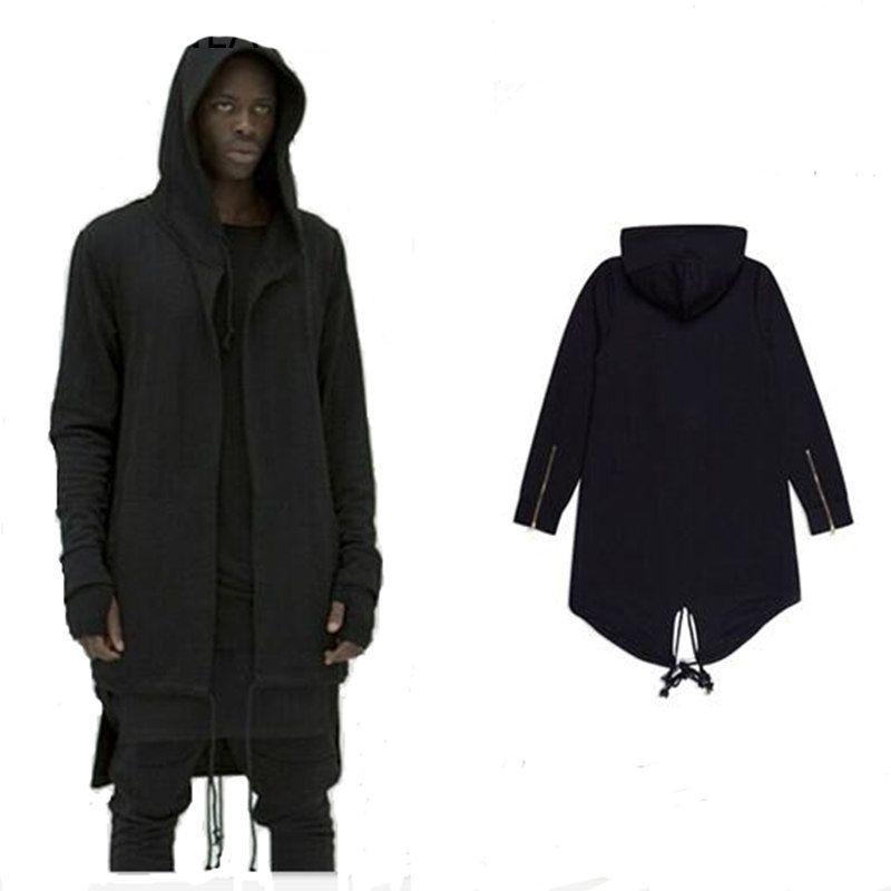 2017 new Hoodies 남성 / 여성 두건이있는 망토 플러스 롱 쇼울 더블 코트 코트 자객 Creed Jacket Streetwear Oversize