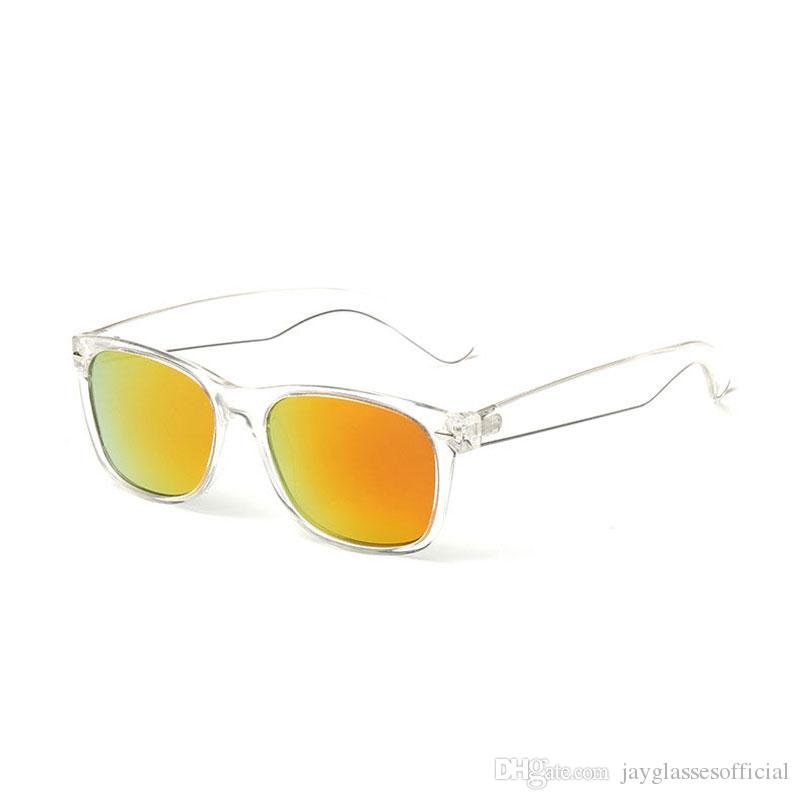 Продажа солнцезащитных очков Винтаж поляризованные мужские мужские водителя очки квадратные спортивные рыболовные солнце пластиковые HD линзы классические горячие моды женские оши скважины