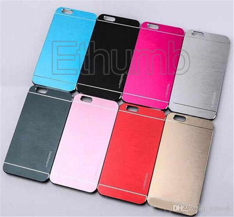 Metal cases for iphone 7 Motomo Metal Aluminum Brushed PC hard back cell phone case for iphone 7 plus 6s samsung S7 LG