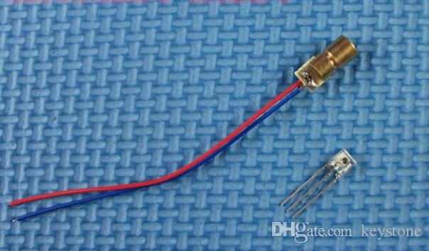 Diodo laser MIX 6mm 4.5v, diodo ricevitore laser ROHS