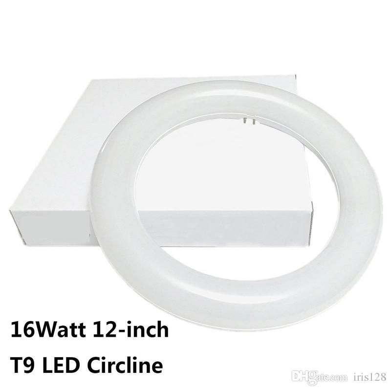 2019 12 Inch Circline 16w T9 Led Light Bulb Daylight 6000k Replacement For Fluorescent Fc12t9 Without Ballast Circular Ring Tube Circle Lighting From