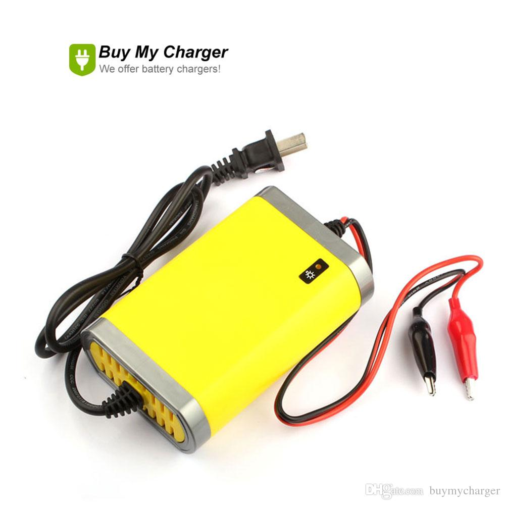 Intelligent auto 12v Volt 2A 12ah~20ah Battery Charger Rechargeable 220V Automatic Power Supply for Car Motorcyclee