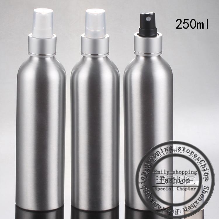 (20 teile / los) 250 ml Spray aluminiumflasche, 250cc parfüm spray pumpe flasche, leere aluminium verpackungsflasche