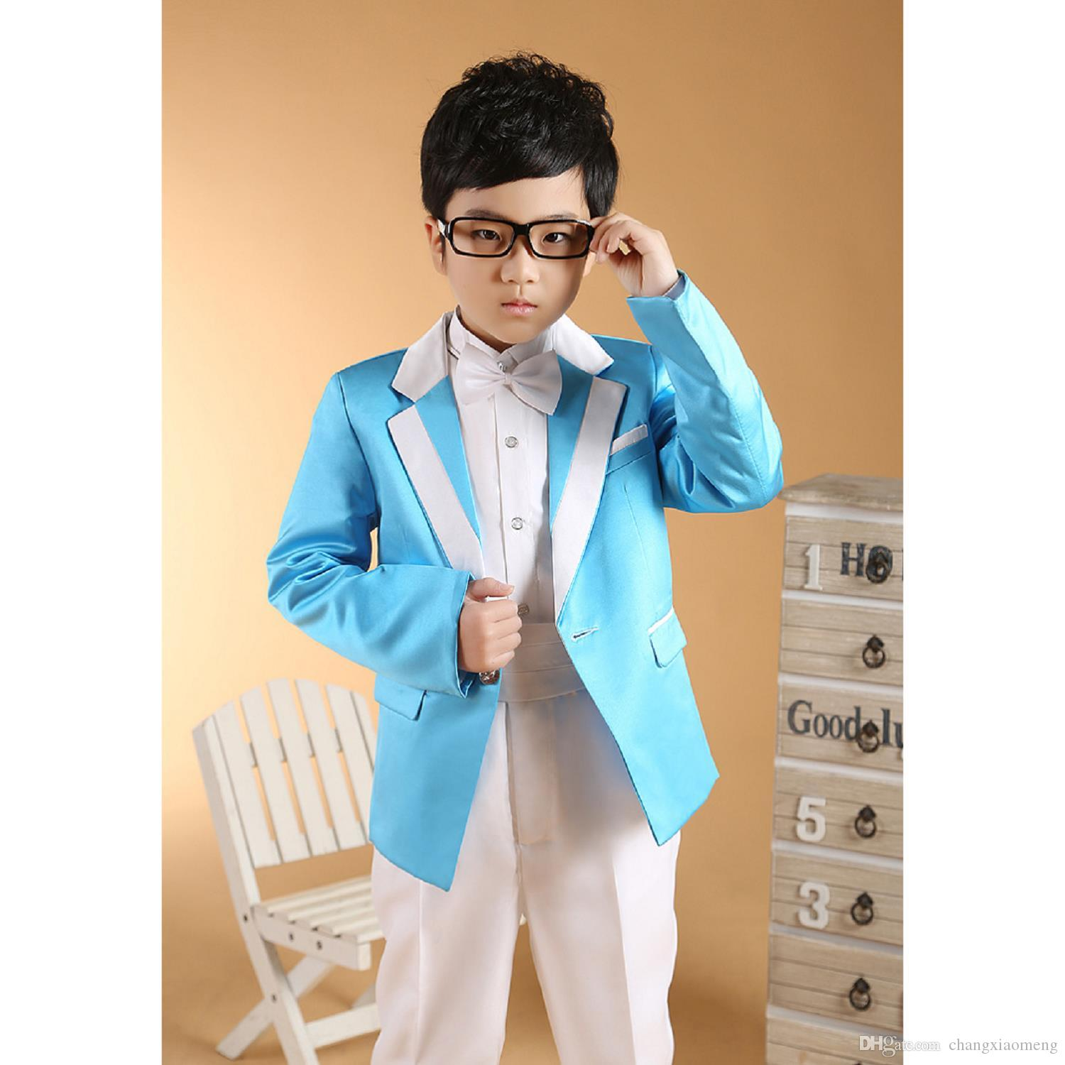 Chenlvxie 2017 Fashion Boys Suits For Weddings Children\'S Clothing ...