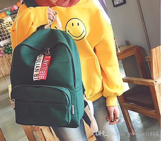 del bolso de escuela de la mochila de moda punk de la nueva llegada de remache estudiante mochila unisex verano 11/04/2019 hombres viajan STARK MOCHILA
