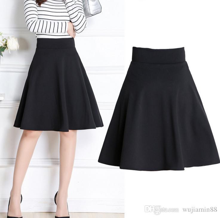 299d7e20 2019 Short Skirt For Women All Fit Tutu School Skirt Black Back Color Women  Clothing Short Skirts Faldas Ball Gown From Wujiamin88, $25.13 | ...