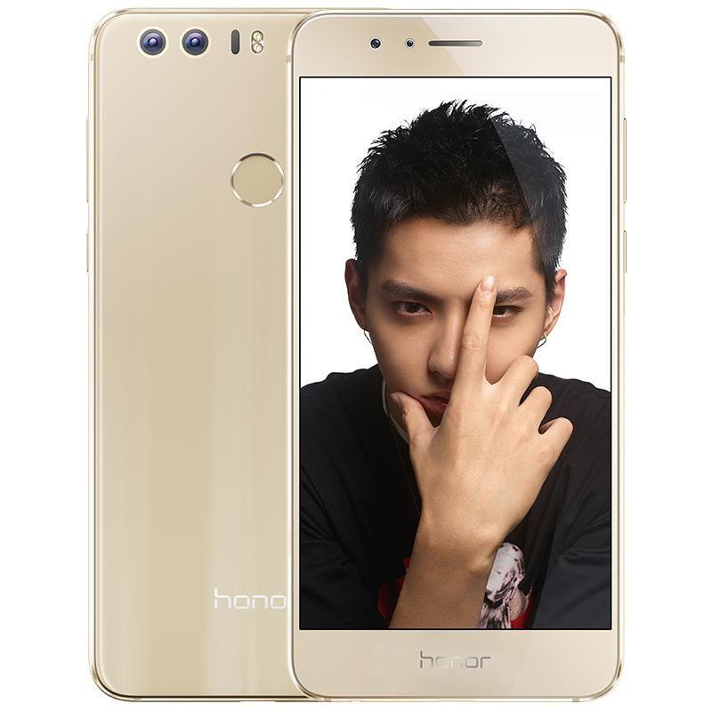 "Original Huawei Honor 8 4G LTE Cell Phone Kirin 950 Octa Core 3GB RAM 32GB ROM Android 5.2"" 12.0MP Fingerprint ID OTG NFC Smart Mobile Phone"