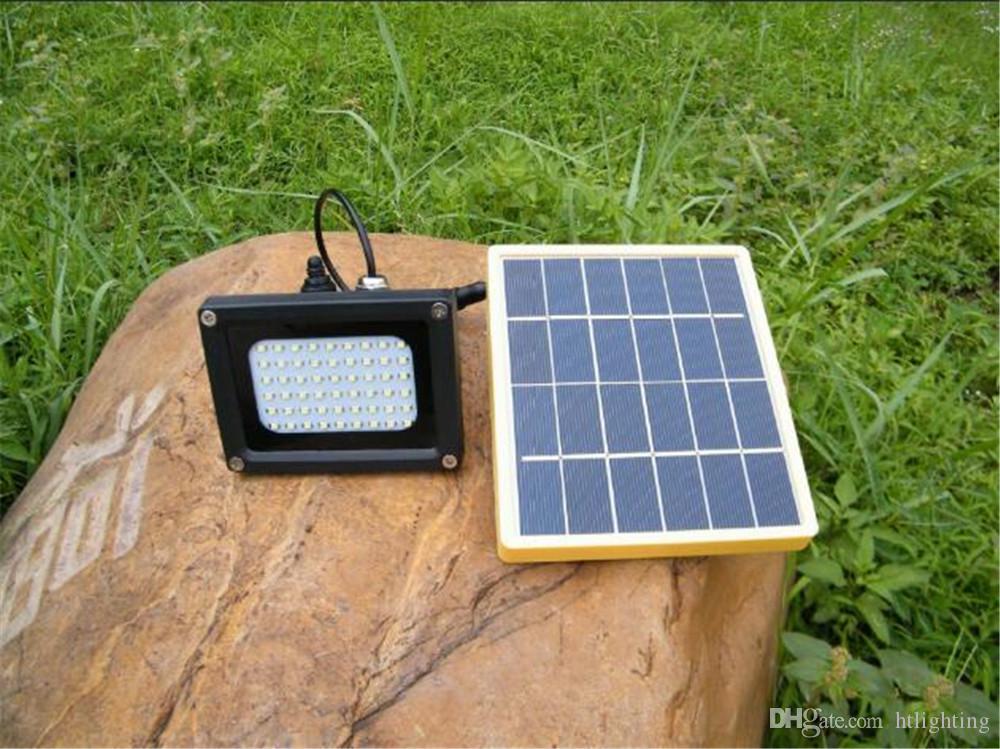 N510B Risparmio energetico 54LED SMD LED Proiettore per Garden Home Roof 5W Lampada solare per proiettore