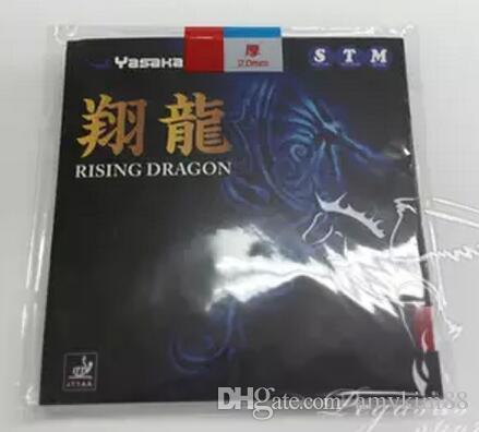 GOOD- FAST- original 2PCS-YASAKA Pips-in PingPong rubber Rising Dragon table tennis rubber With Sponge