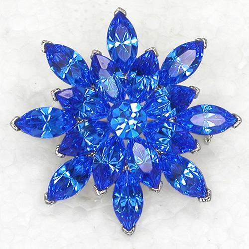 Spilla di moda all'ingrosso strass spilla fiore marquise spille festa di nozze C101174