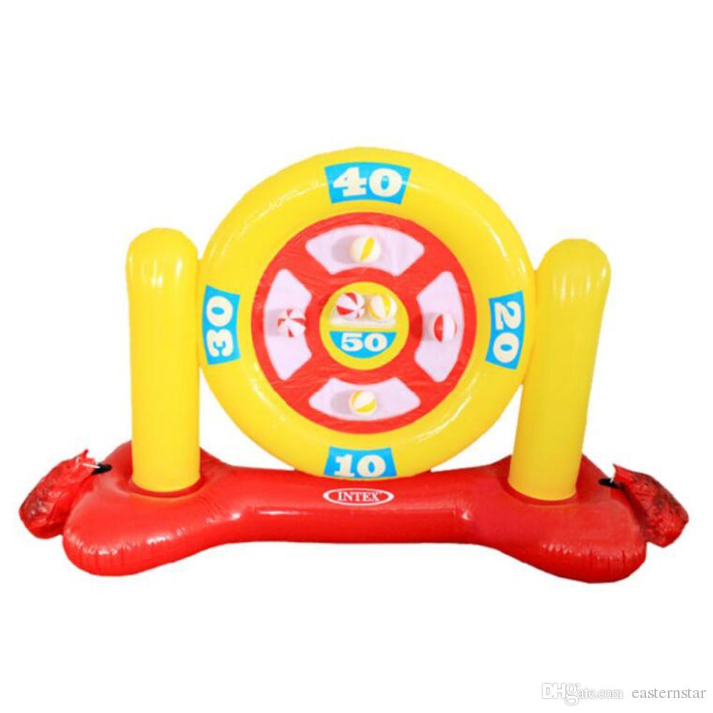Надувные Dart Set Paddling Игрушка Дарт Target Set Дартс для взрослых для детей Kid Летних на открытом воздухе Play