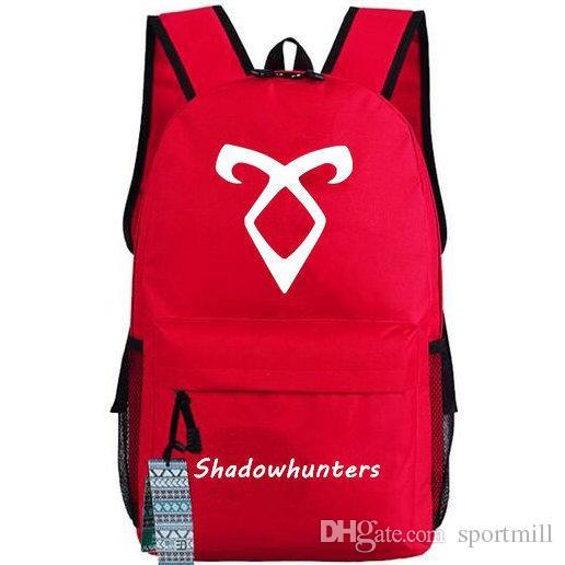 Shadowhunters рюкзак Телепорт школьный мешок тень охотник ТВ играть рюкзак открытый мешок школы нейлон рюкзак горячие продажи день пакет