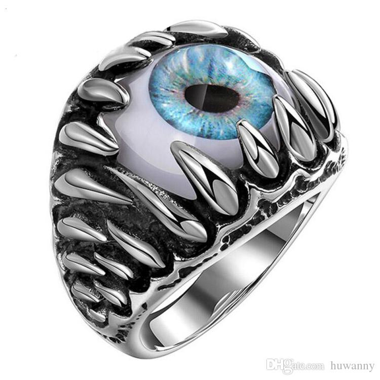 Men's Stainless Steel Rings Jewelry Hot Sale Band Finger Ring Men Party Gift Fahion Jewelry Wholesale Free Shipping 0449WH